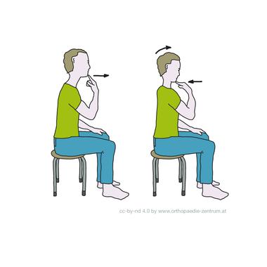 Fachärztlich empfohlene Gymnastikübungen für die Halswirbelsäule